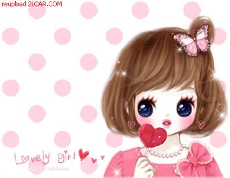animasi kartun korea romantis bergerak gambar animasi