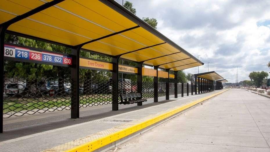 Aceleran la obra del Metrobus de La Matanza, un ícono del macrismo que llega a territorio K