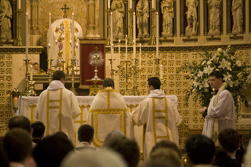 Blessed Sacrament in the Oratory