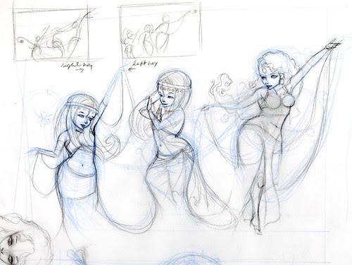 Goddesses Sketches 2