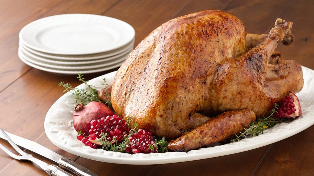 Gluten-Free Honey Pomegranate Roasted Turkey recipe from ...