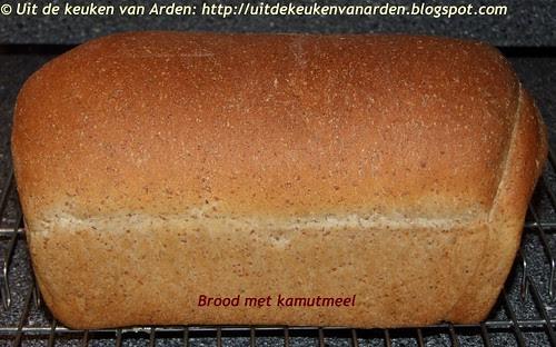 Brood met kamutmeel