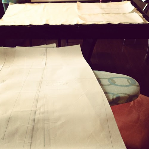 Flared skirts on the chopping block #apparelarts    #sewing