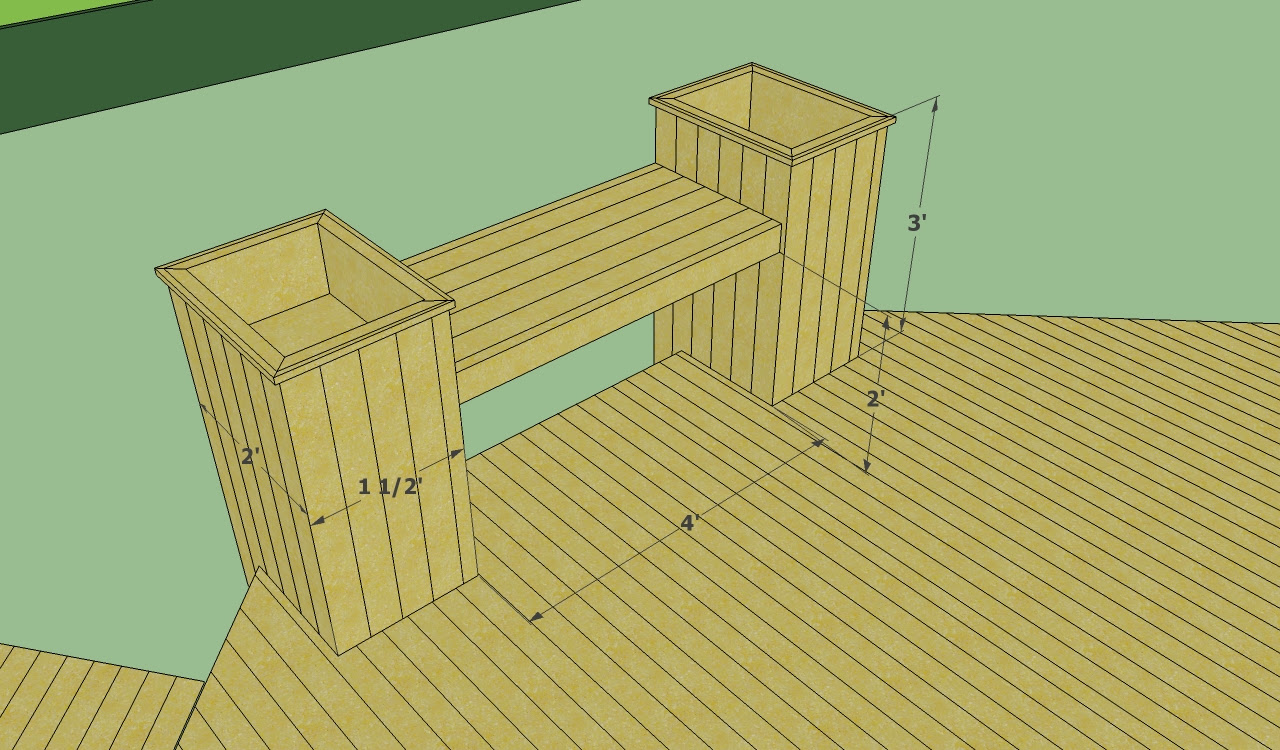 Floating deck plans free | HowToSpecialist - How to Build, Step by ...
