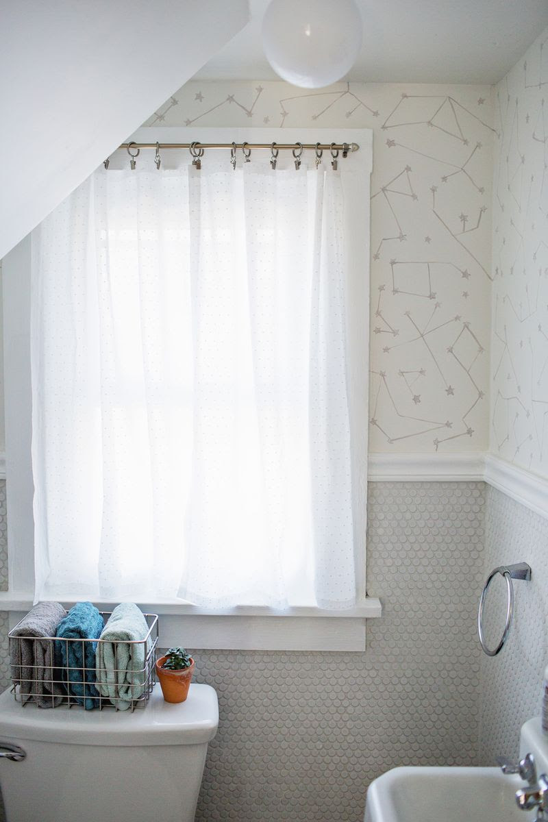 Easy No-Sew Curtains - A Beautiful Mess