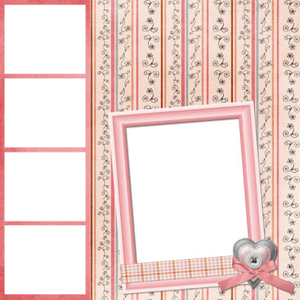 No Reimer Reason - Digital scrapbook Quick Page 6 - Click for larger preview