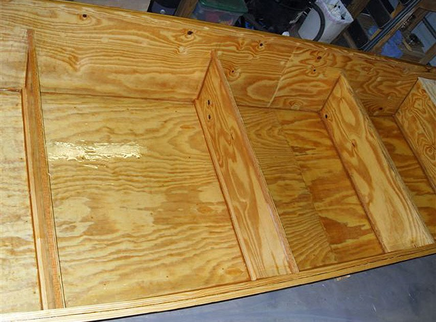 BB: For you Louisiana plywood boat plans