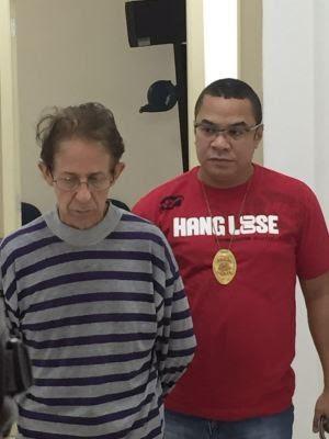 Fernando Ferreira foi preso por suspeita de abusar de menores de idade (Foto: Isabela Oliveira/G1)