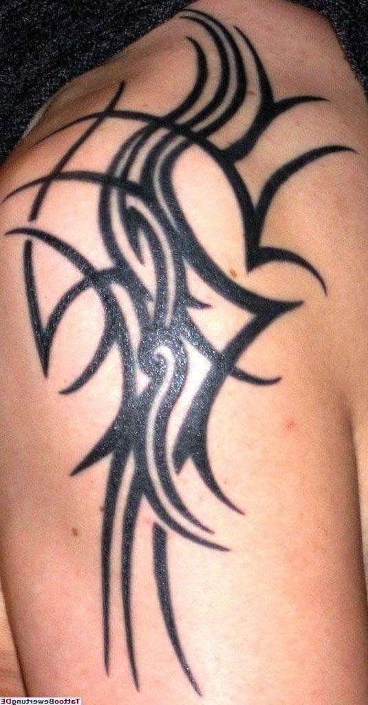 Tattoovorlagen Tribal Oberarm Cool Tattoos Bonbaden