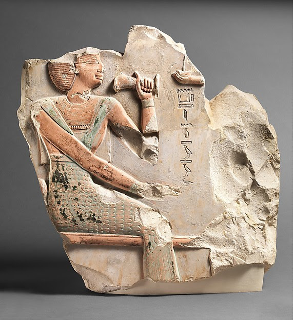 Relief of Queen Kemsit Seated