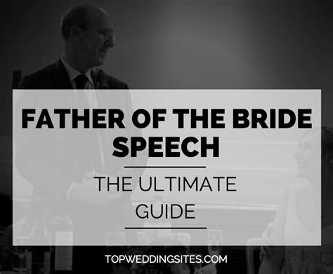 father   bride speech  ultimate guide