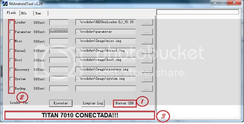 (APORTE)Tutorial Para Actualizar Titan 7010A,B y ME A JB 4.1