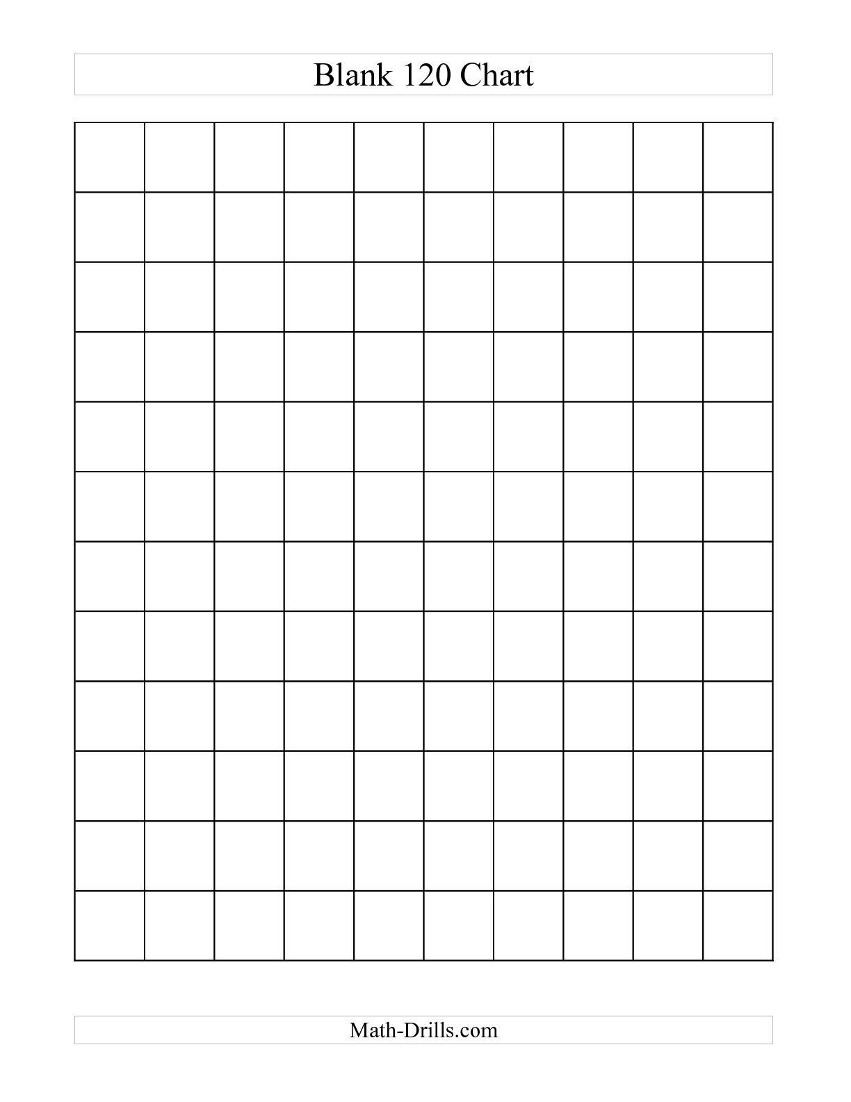 Worksheet. Blank 100 Chart For Kindergarten. Mikyu Free Worksheet