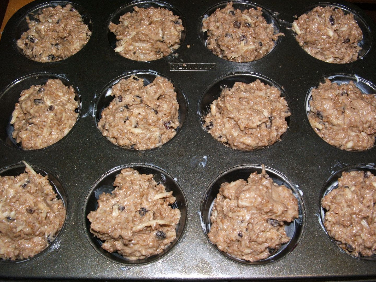 Spice Parsnip Bran Muffins by Angie Ouellette-Tower for godsgrowinggarden.com photo 009_zps27023041.jpg