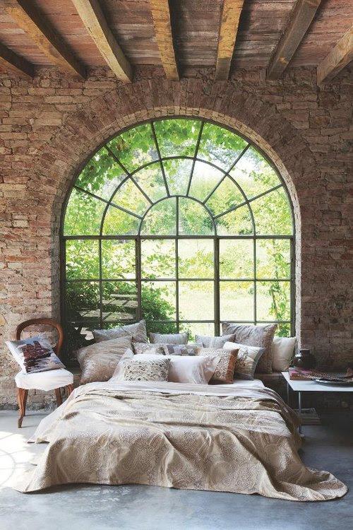 Dormitorio con una enorme ventana Tumblr Collection # 6