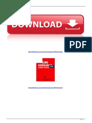 Download Buku Ilmu Kebidanan Pdf - Guru Galeri