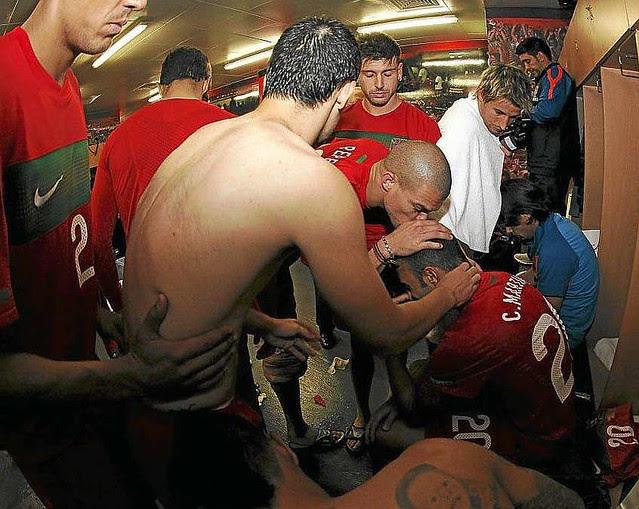 Apoyo a Martins vestuario selección portuguesa