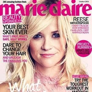 """Reese Withersoon é capa da edição de outubro da """"Marie Claire"""" norte-americana"""