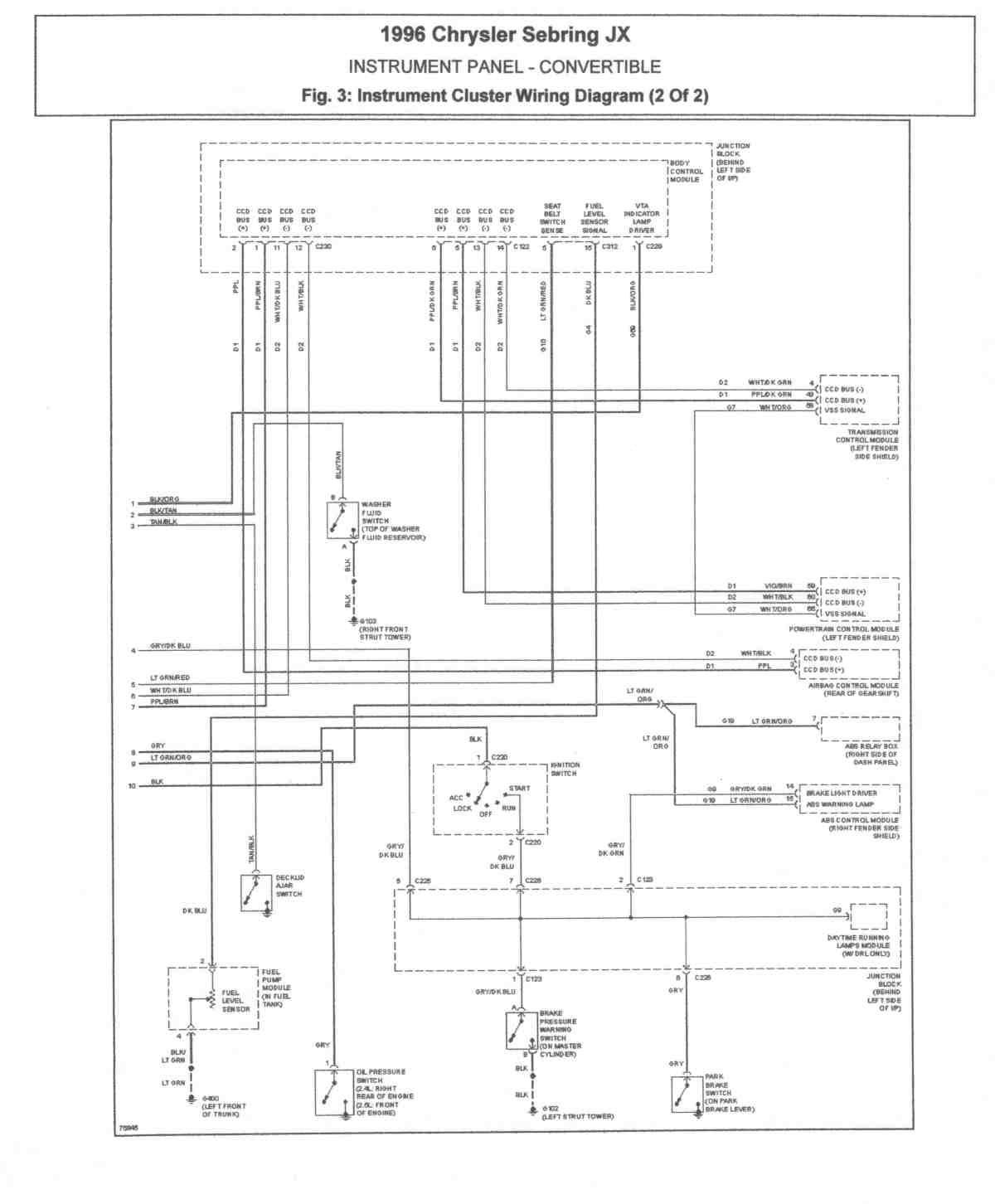 2004 Chrysler Sebring Wiring Diagram Full Hd Version Wiring Diagram Shin Yti Fr
