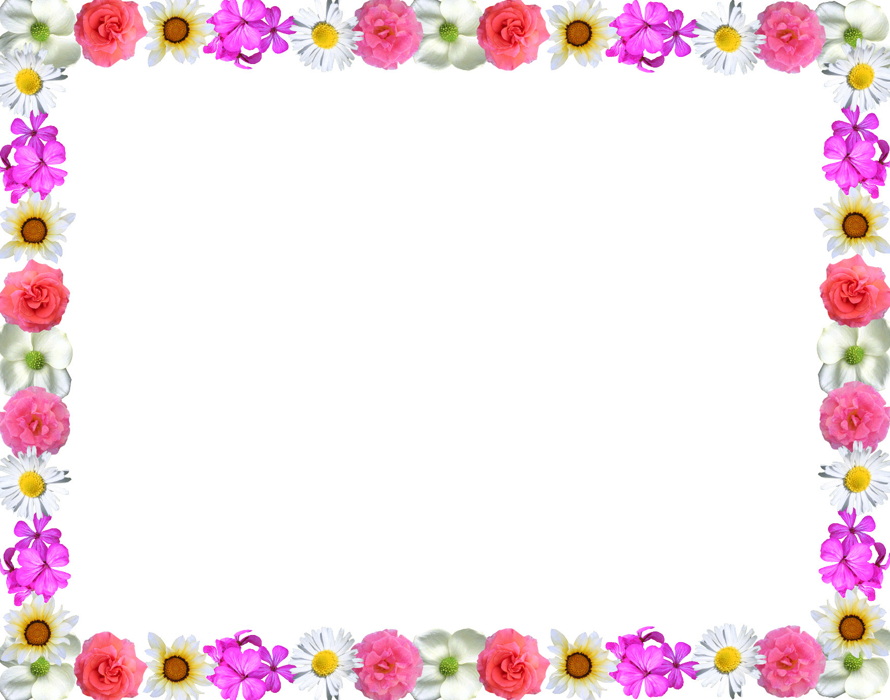 Free Simple Flower Design Border Download Free Clip Art Free Clip Art On Clipart Library