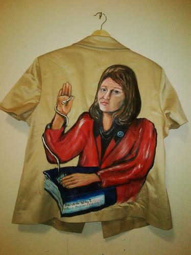 Regina's Jacket: Oath of Office