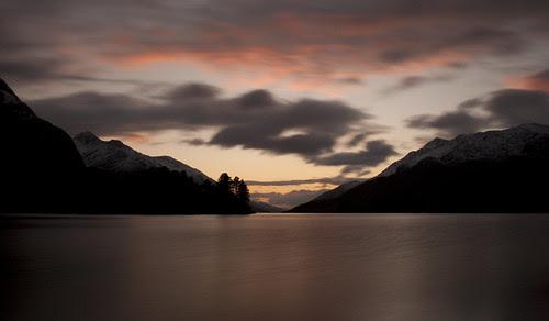 Loch Shiel at dusk by iiisecondcreep