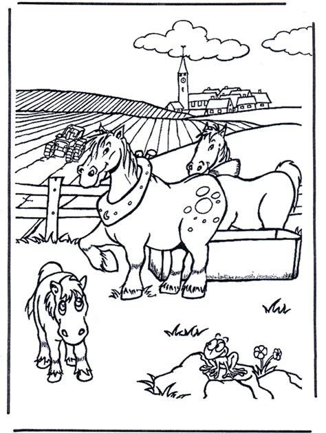 ausmalbilder pferde mit fohlen zum ausdrucken  roseanne