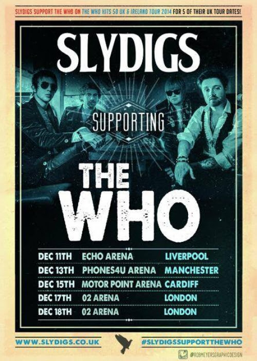More Who Dates Announced