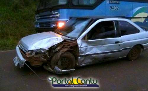 Laranjeiras - Veja em vídeo a reportagem sobre acidente na tarde desta quinta na PR 565