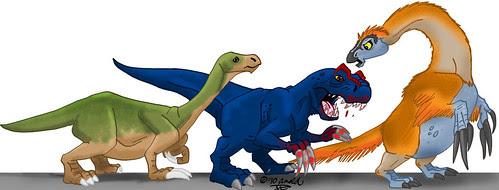 """Therizinosaurs Through the Years"" Final!"