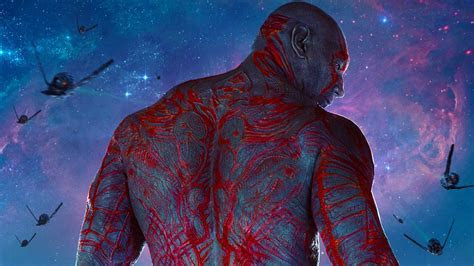 Guardians of the Galaxy Drax Wallpaper HD