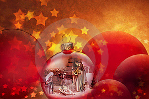 Christmas Nativity Scene Ornaments