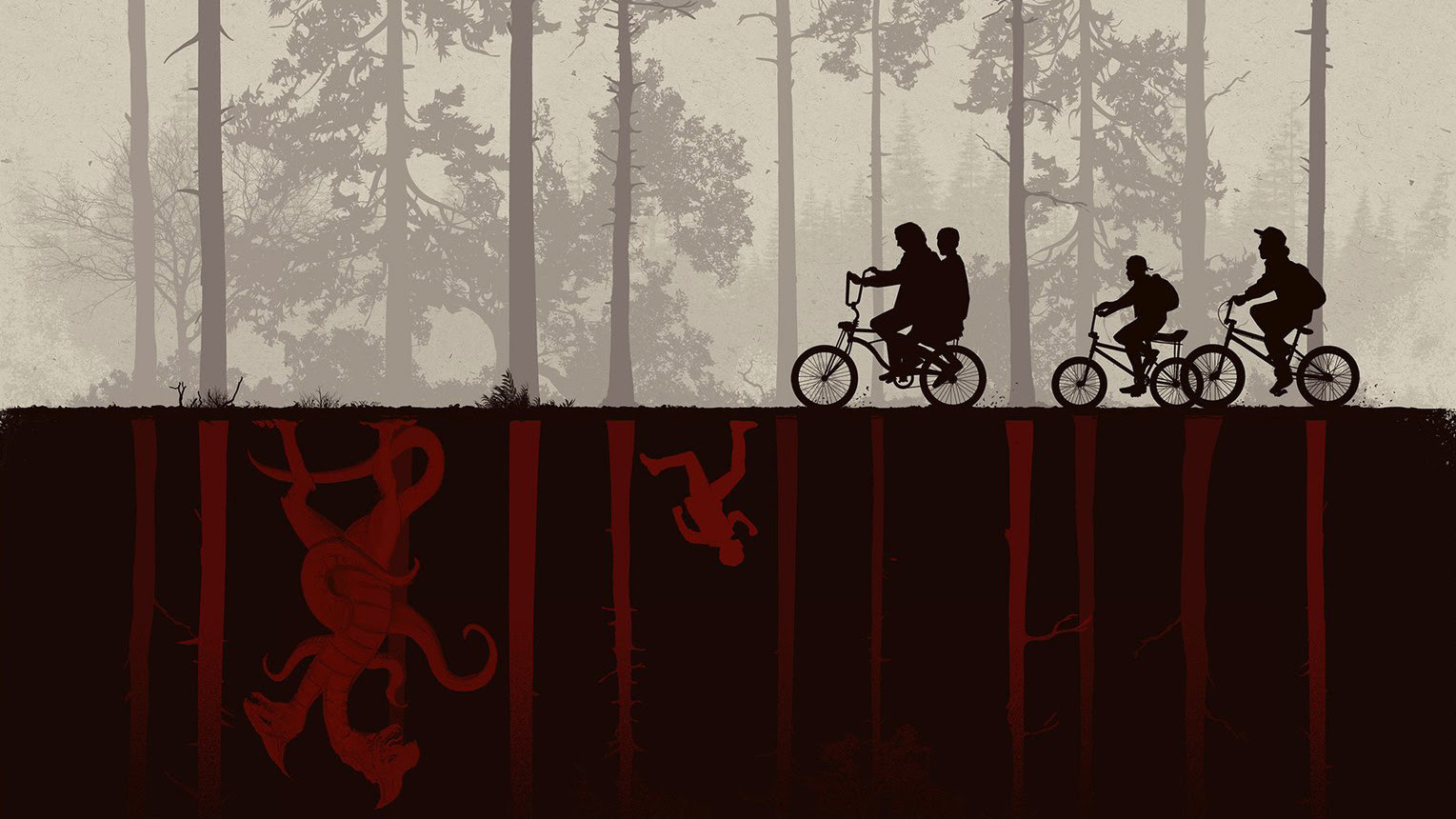 Resultat d'imatges de wallpapers stranger things
