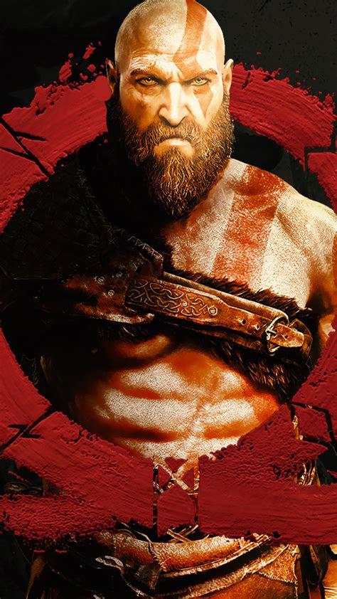 god  war  logo kratos wallpapers