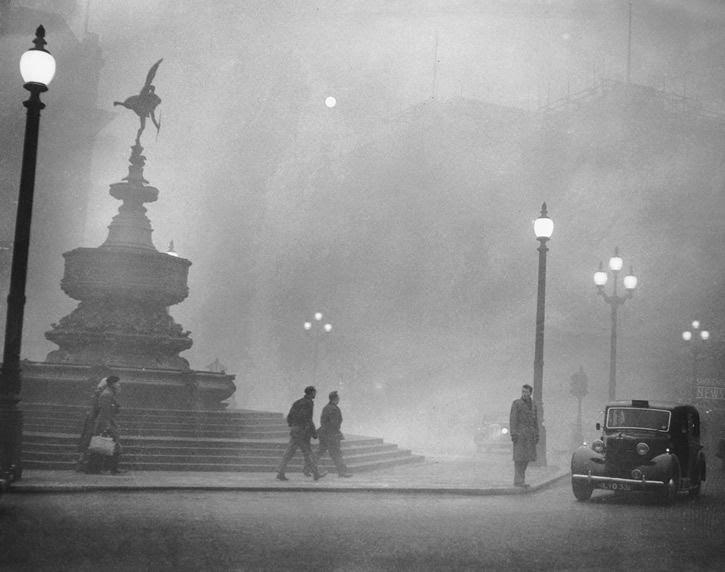 Niebla en piccadilly circus