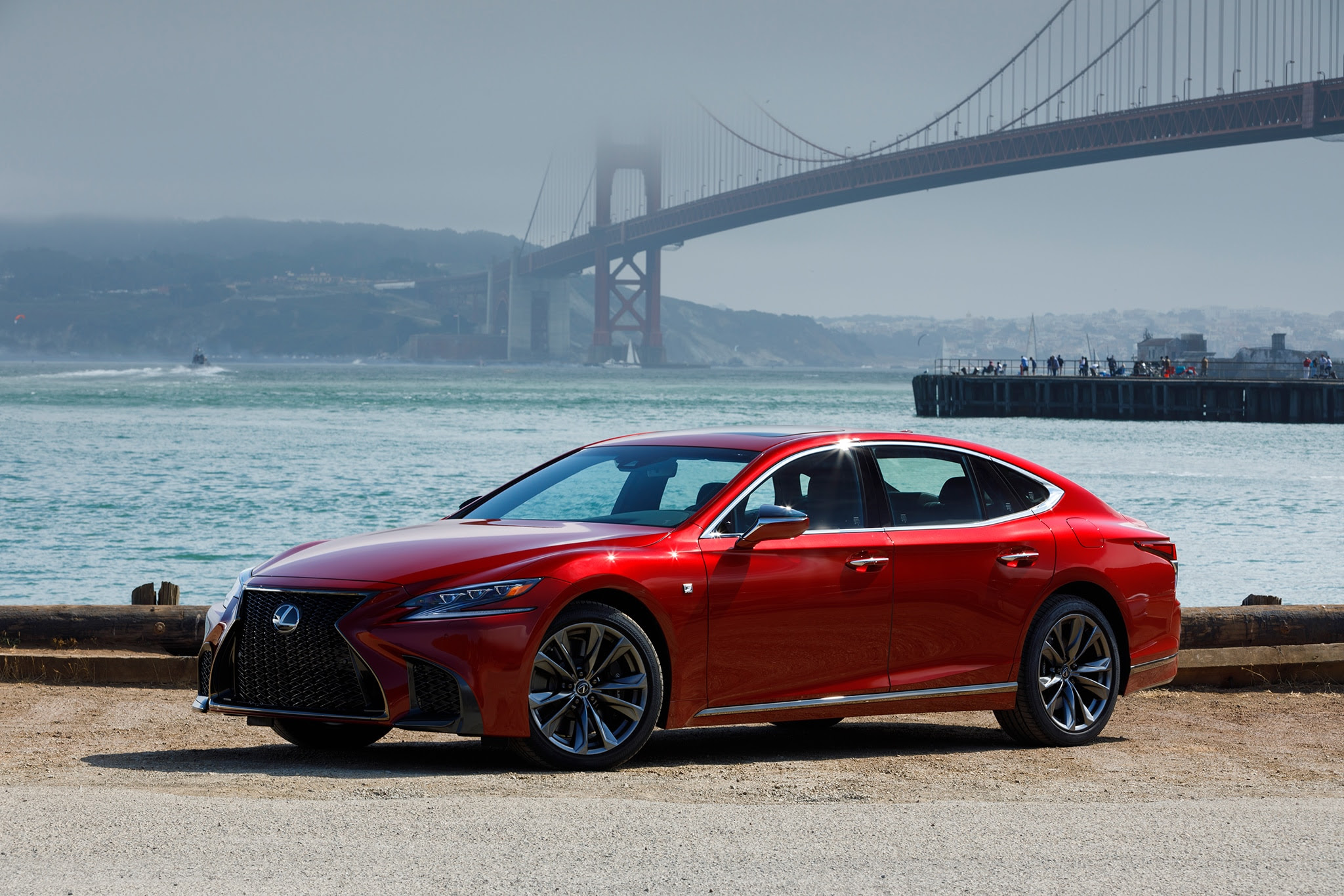 2018 Lexus LS 500 F Sport Adds Visual Aggression, Handling Pack to Halo Sedan  Automobile Magazine