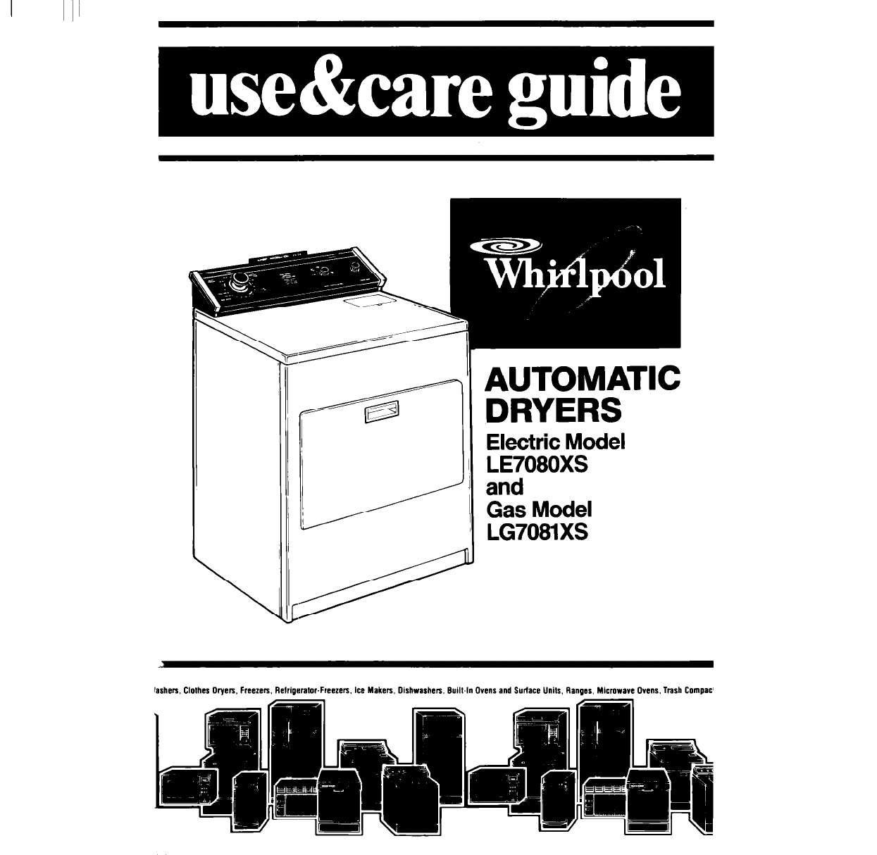 Whirlpool Cabrio Dryer Disassembly Manual Guide