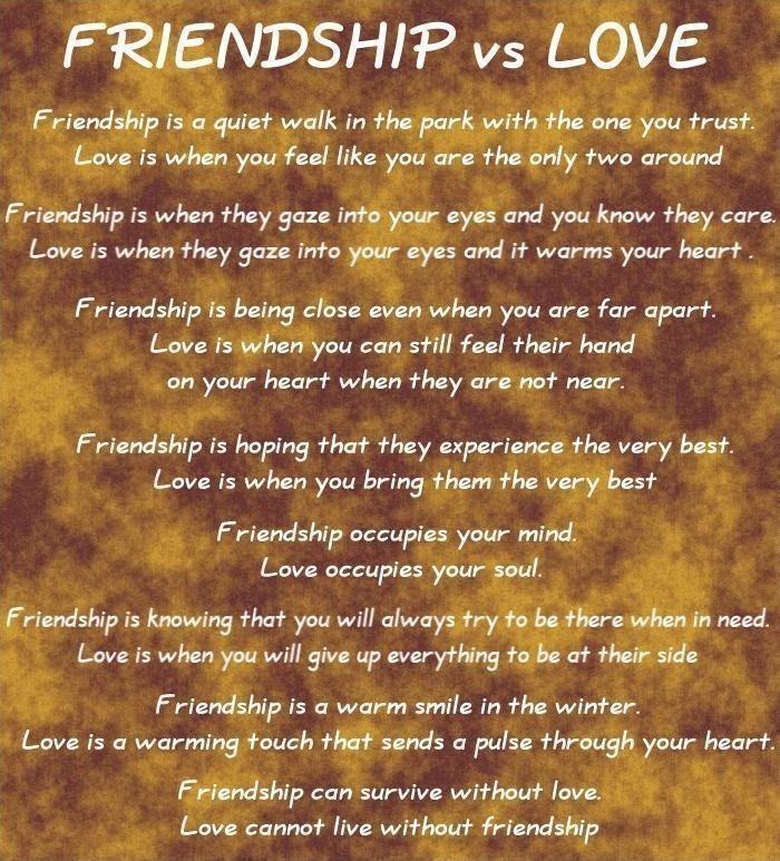 Love And Friendship Quotes Sayings Love And Friendship Picture Quotes