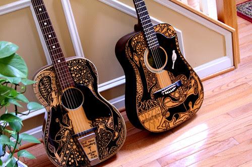 The Sharpie Guitars