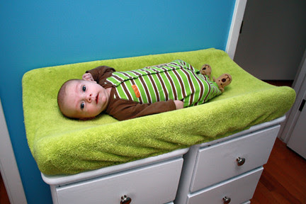 Changing Table - With Baby