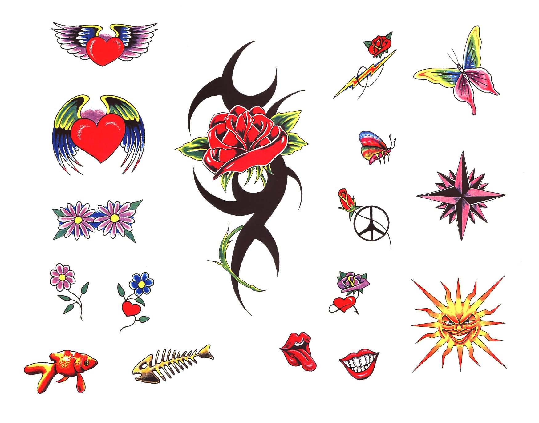 Heart Flower Tattoo Ideas Flowers Healthy