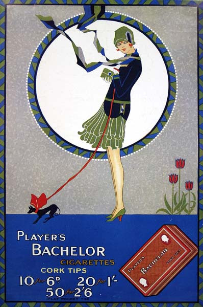 The Tatler, Player's Bachelor Cigarettes ad, 19th March 1930