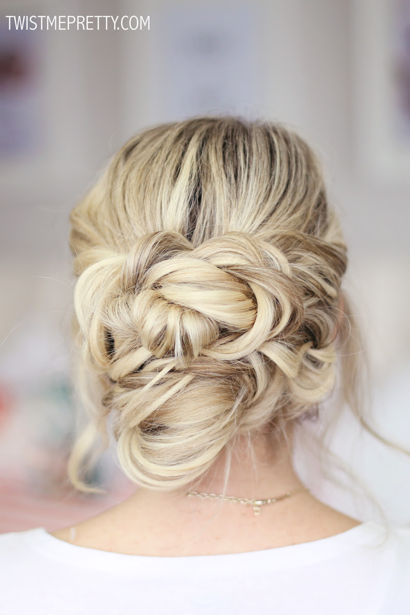2 Easy Holiday Hairstyles Twist Me Pretty