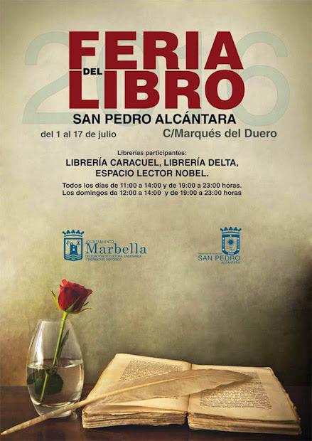San Pedro Alcántara celebrará su Feria del Libro del 1 al 17 de julio