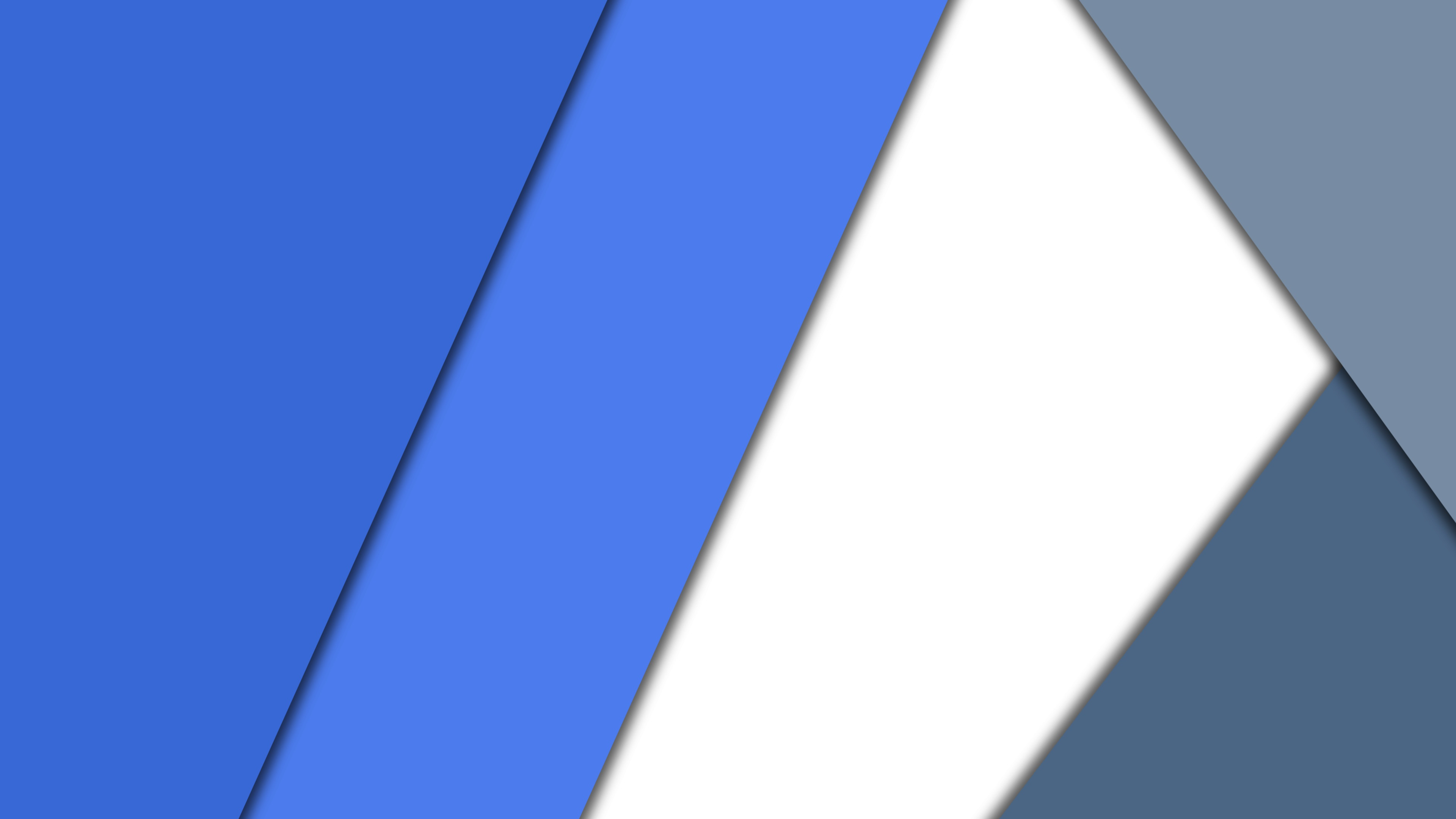 Blue White Material Design 4k Hd Abstract 4k Wallpapers Images