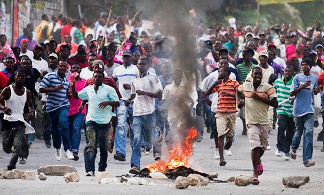 Resultado de imagen para violencia en Haití