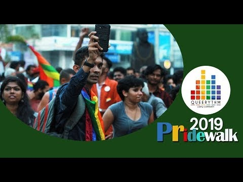 Queer Pride walk- 2019 at Thiruvananthapuram- Video