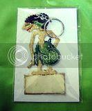 Souvenir Kulit Gantungan  Kunci  AE