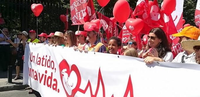 Miles de personas en la VII Marcha por la Vida en España