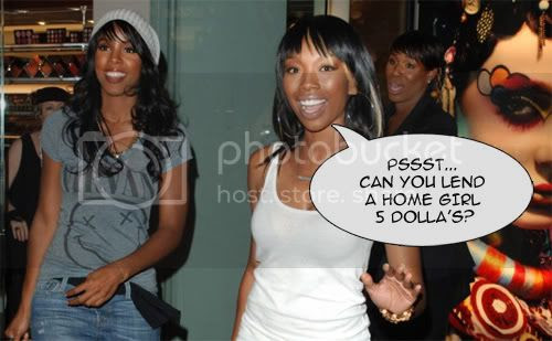 Brandy and Kelly Rowland are friends again! (Yay for sisterhood!!)